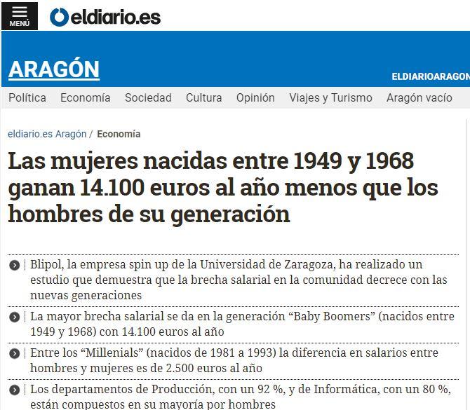 El diario Aragón